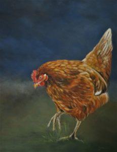 Te koop acrylverf/olieverf schilderijen | Yvonnes-art.nl  Deerhound